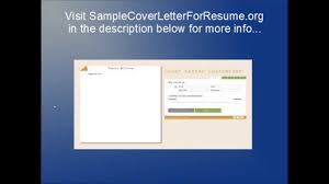 professional cover letter business cover letter sample