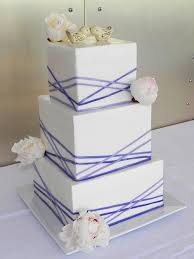 Square Wedding Cakes Wedding Cakes Elegant Square Wedding Cakes