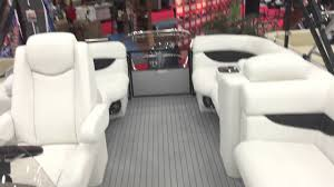 Aqua Patio Pontoon by 2016 Aqua Patio 220sl Full Performance Marine Youtube