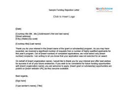 Decline Letter To Bid Sle Rejection Letters Lovetoknow