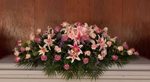 roses and lilies roses and lilies casket spray kremp