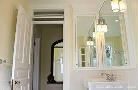 1920 bathroom medicine cabinet vintage inspired diy bathroom remodel before and after photos