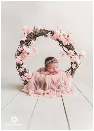 newborn photography props beautiuful floral wreath image photography newborn