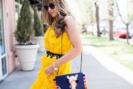 the cashmere gypsy yellow eyelet midi dress