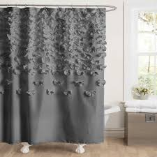Modern Bathroom Shower Curtains - modern shower curtain rings u2014 all home design solutions best