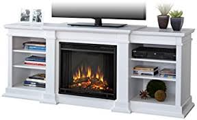 Amazon Fireplace Tv Stand by Real Flame Fresno Electric Fireplace Tv Stand In White Finish