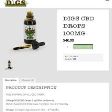 digs cbd drops in stock discount indoor garden supply facebook