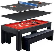 pool table ping pong table combo hathaway park avenue 7 ft pool table combo set 672875901876 ebay
