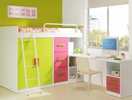 chambre fille avec lit mezzanine le lit mezzanine avec bureau est l ameublement créatif pour les