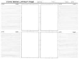 comic book template pdf eliolera com