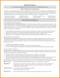 hr manager resume 8 hr manager resume sle address exle templates myenvoc