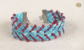 macrame bracelet tutorials images Zigzag and chevron macrame bracelet tutorials the beading gem 39 s JPG