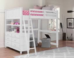 Crib Loft Bed Ne Lake House High Loft Bed White N Cribs