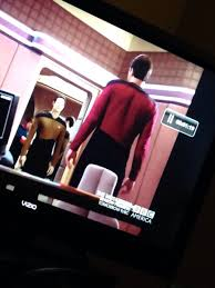 Assless Chaps Meme - for a second i thought riker was wearing assless chaps funny