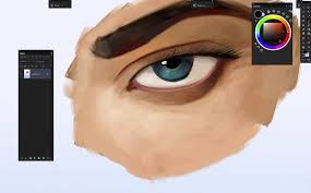 gumroad how to paint eyes digital painting tutorial by dan luvisi