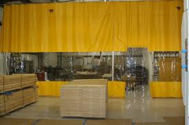 Retractable Curtains Industrial Curtains Vinyl Partitioning Systems Pvc Curtain Walls