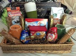 coffee gift basket ideas coffee gift basket baskets for christmas near me delivery
