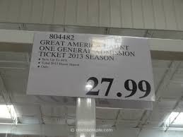 great america halloween haunt admission ticket