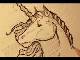 draw a unicorn sketching a unicorn horse step by step youtube