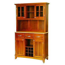 wine rack buffet with 2 door hutch wood oak natural home styles