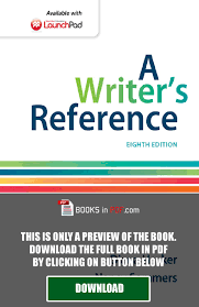 a writer u0027s reference 8th edition by diana hacker pdf free by luis