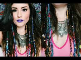 boho hair wraps diy hair wrap extensions 3 styles