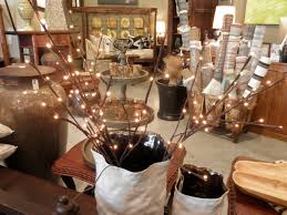 Bag Vase Decorating Lighted Branches With Paper Flowers For Wall Brown Bag