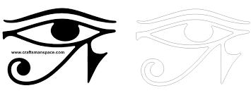 eye of horus symbol svg