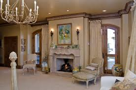 Tuscan Style Living Room Featured Project Custom Designed Tuscan Style Build