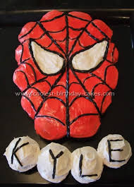 coolest spiderman cakes