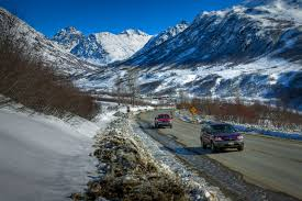 Alaska Road Map by Hatcher Pass Scenic Drives In Alaska
