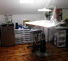Plan Hold Drafting Table Organizing A Studio