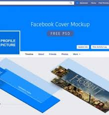 download free facebook page mockup psd download psd