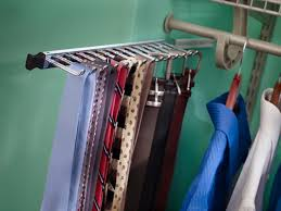 racks space saver closet organizers diy tie rack closet