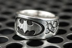 batman wedding rings wedding batman wedding rings for custom him and ring sets