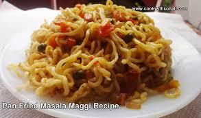 maggi cuisine fried maggi noodles recipe maggi recipe food maggi recipe