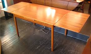 Draw Leaf Dining Table Teak Draw Leaf Dining Table Sold White Trash Nyc