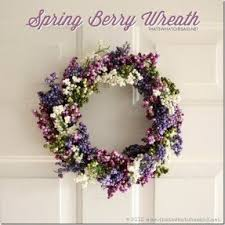 berry wreaths front door foter