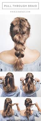 Hochsteckfrisuren Sehr Einfach by Die Besten 25 Sehr Einfache Frisuren Ideen Auf
