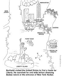 island coloring page statue of liberty coloring pages printable statue of liberty