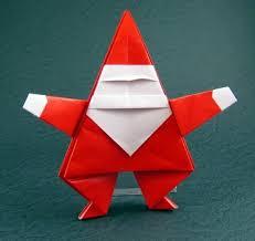 How To Make A Origami Santa - how to make santa claus origami origami santa claus learnatwork info