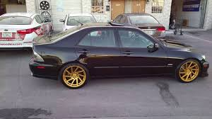 lexus is300 tuner 877 544 8473 18 inch f1r f29 gold wheels lexus is is300 concave