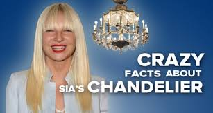Chandelier Lyrics Here Are A Bunch Of Facts About Sia S Chandelier Metrolyrics