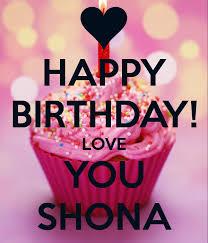Happy Birthday Love Meme - happy birthday love you shona poster ay z keep calm o matic