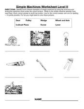 worksheet packet simple machines answers 55 images simple