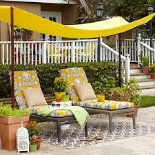 Cheap Awnings For Patio Diy Simple Backyard Shade Allyou Com