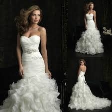 wedding dress mermaid mermaid wedding gown organz sweetheart mermaid wedding dress