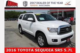 toyota milwaukee used toyota sequoia for sale in milwaukee wi edmunds