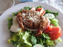 jeannette cuisine the delicious romano crusted chicken salad picture of de nunzio s