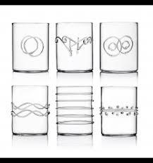 bicchieri design bicchieri in vetro di design per acqua e vino dep design store